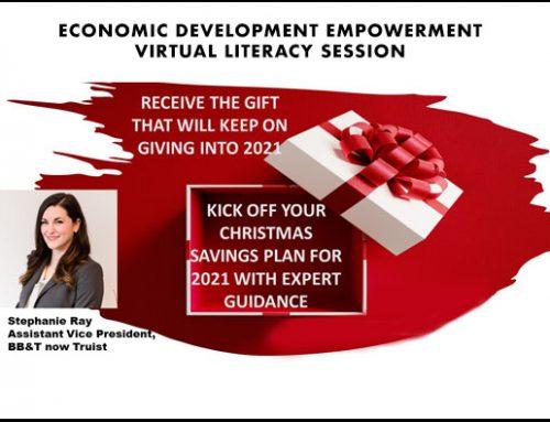 Economic Development Empowerment Literacy Session