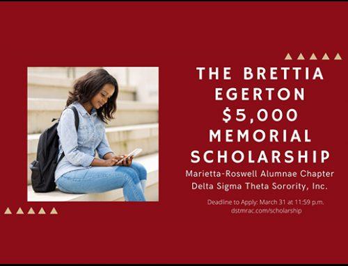 Brettia Egerton Scholarship