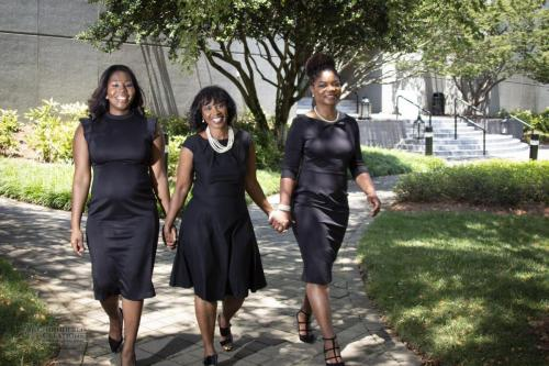 1 Cotillion Chair , Lucinda Mills and Co-Chairs, Catrice Swan and Kesha Andrews